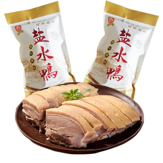 龙福兴 南京桂花风味盐水鸭