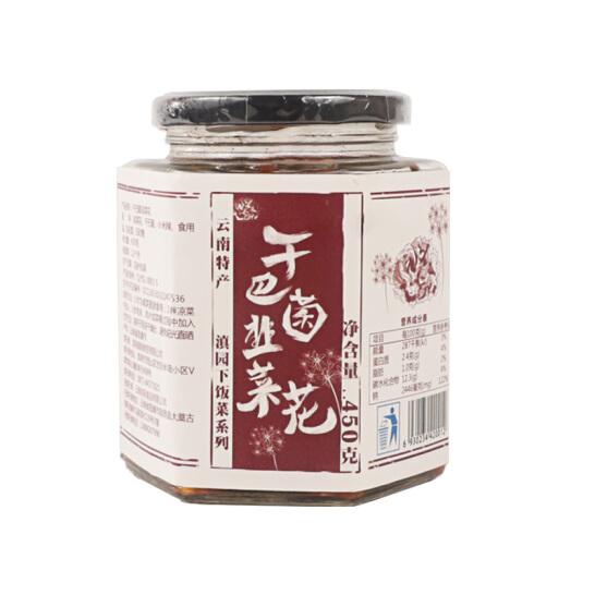 干巴菌韭菜花