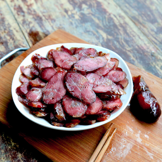 农家土猪肉原味腊肠